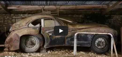 Sixty Abandoned Classic Cars Found In French Barn Video