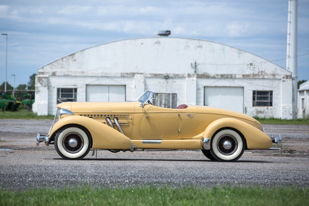 The Auburn 851 Speedster: The First American Sports Car? - Assorted ...